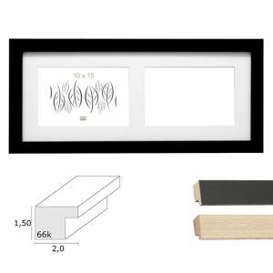 2er Galerierahmen Habay, horizontal