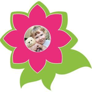 Motiv-Passepartout Blume