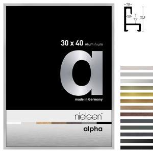 Aluminium Bilderrahmen Profil alpha