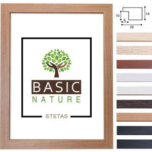 Holz-Bilderrahmen Basic Nature Maßanfertigung