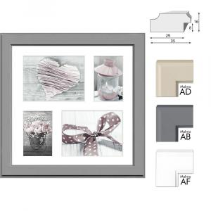 Galerie-Bilderrahmen MALMO für 4 Bilder