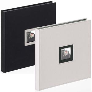 """Buchalbum """"Black & White"""" zum Einkleben, 30x30 cm"""