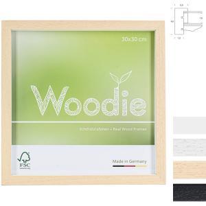 Holz Bilderrahmen Usedom mit Distanzleiste