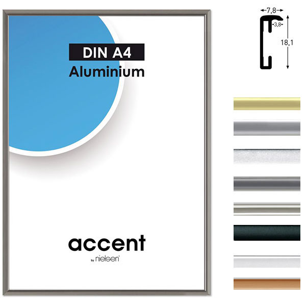 Aluminium-Bilderrahmen Accent
