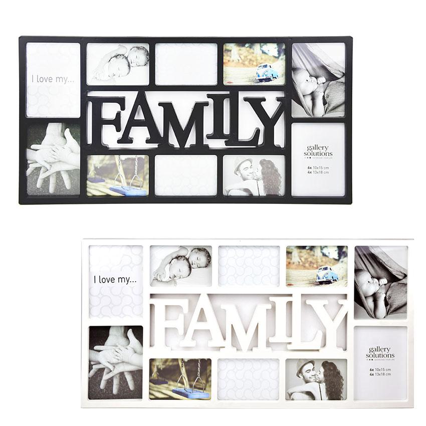 Collage-Bilderrahmen Family