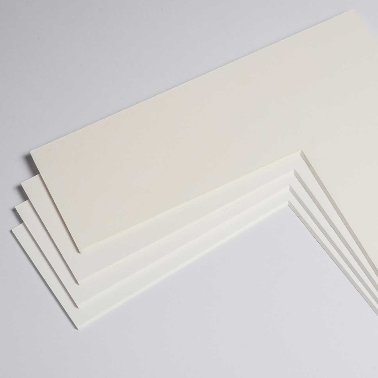1,8 mm Baumwoll-Passepartout mit individuellem Ausschnitt