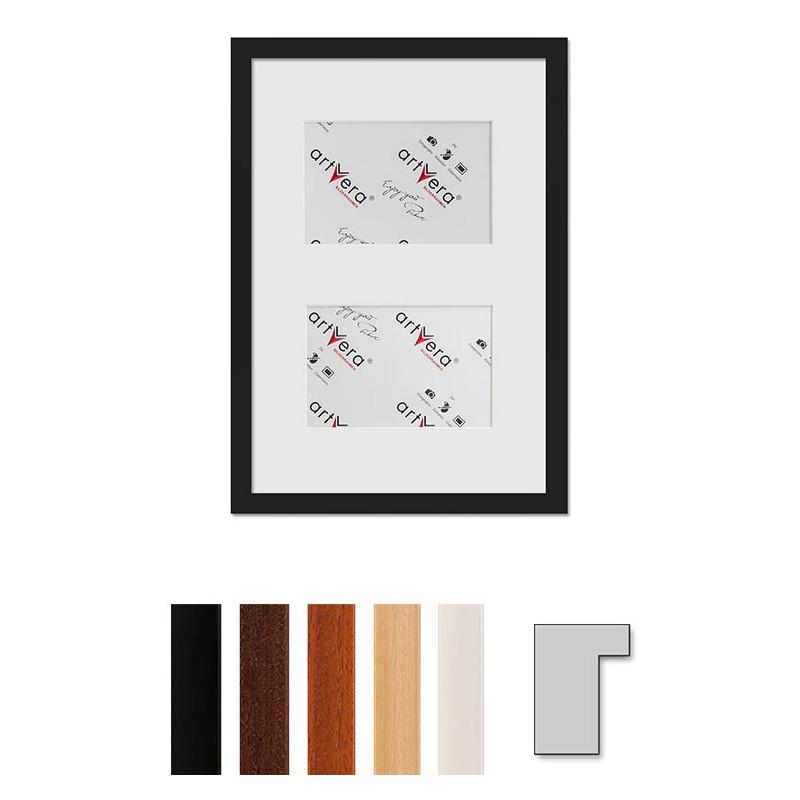 2er Galerierahmen Lund, 25x35 cm - 10x15 cm
