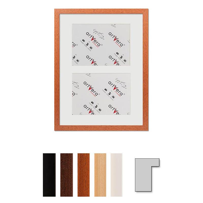 2er Galerierahmen Lund, 30x40 cm - 15x20 cm