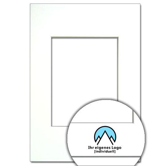 Passepartout mit Logo