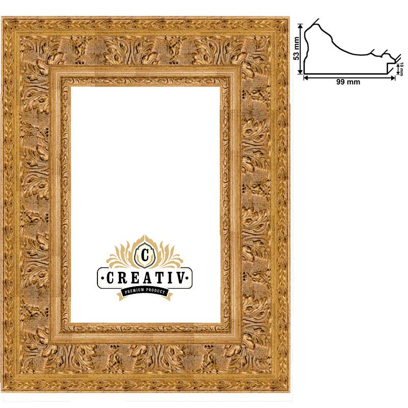 Barock Holzbilderrahmen Grosseto