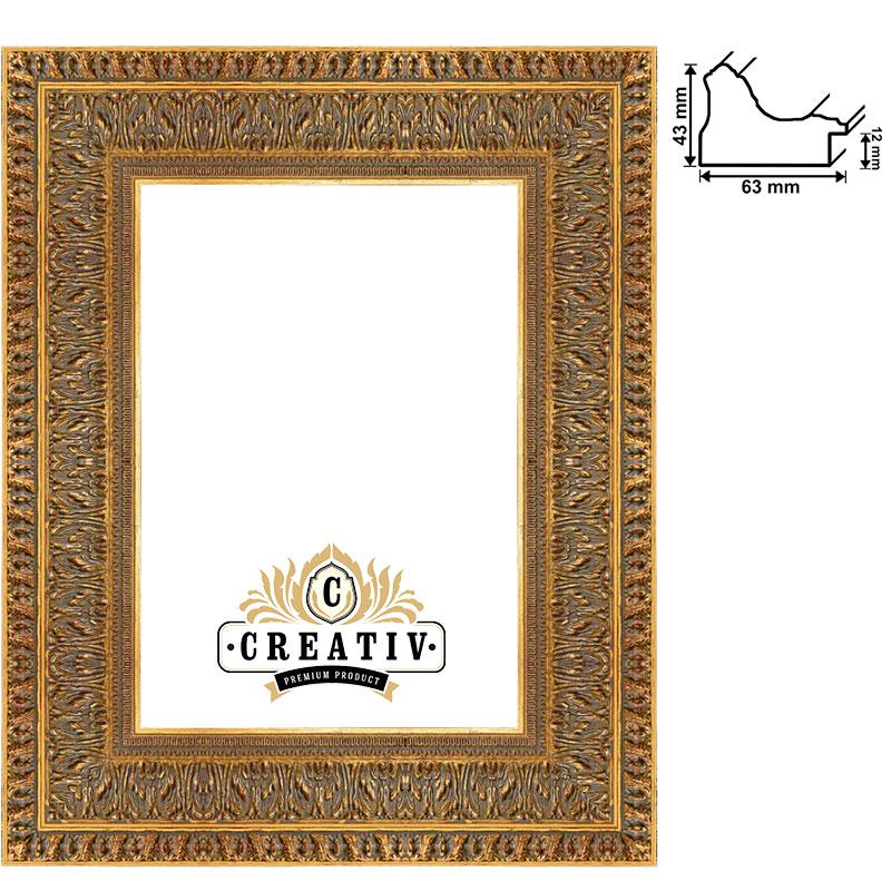 Barock-Bilderrahmen Matera Maßanfertigung