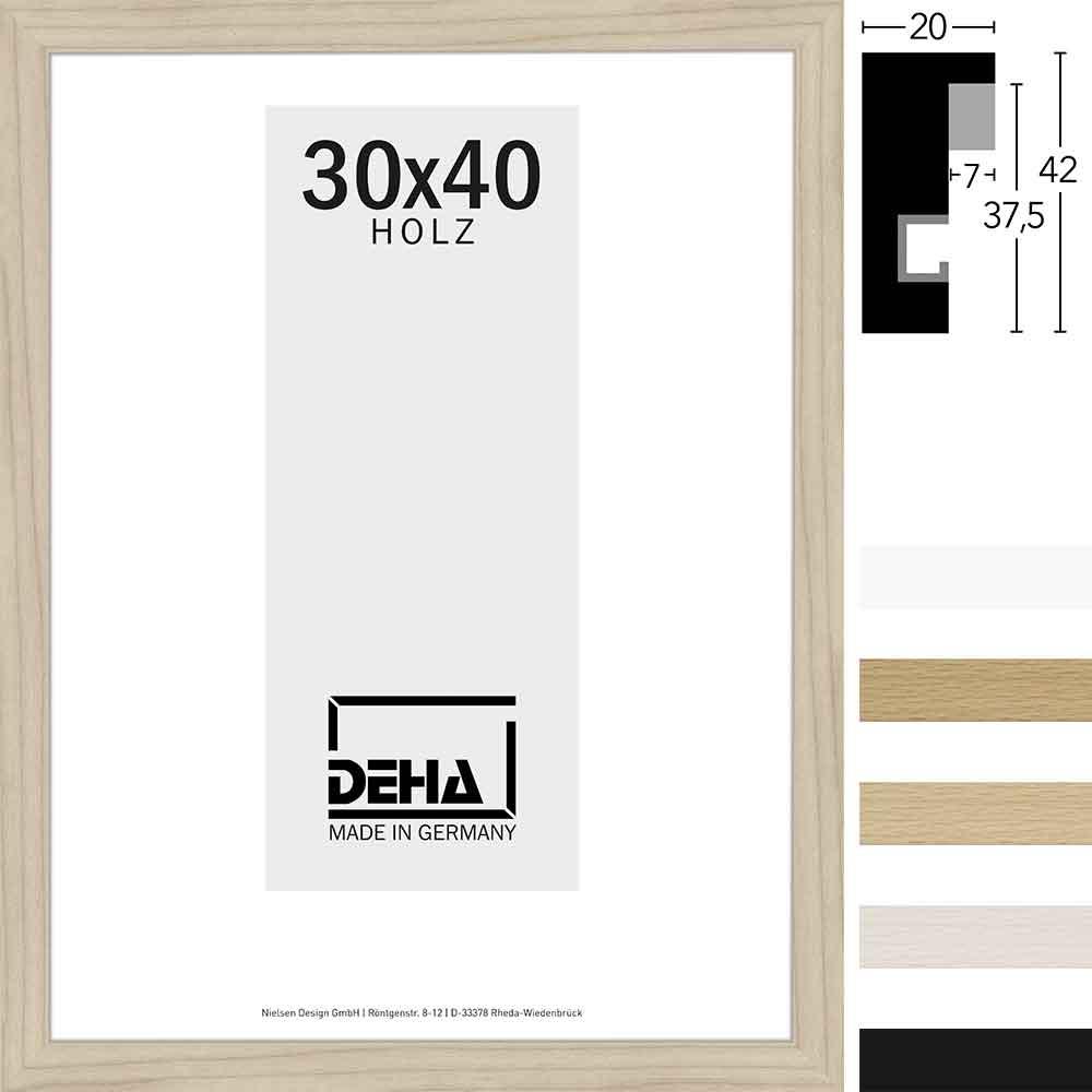 Distanz-Holz Bilderrahmen Winnecke Sonderzuschnitt