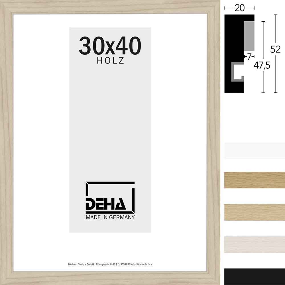 Distanz-Holz Bilderrahmen Zibal Sonderzuschnitt
