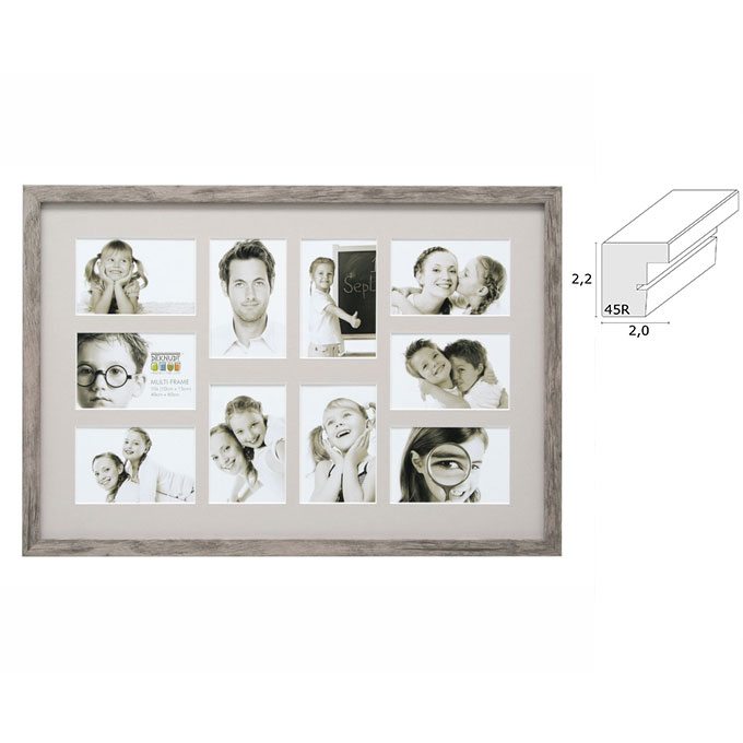 Galerierahmen Manage für 10 Bilder