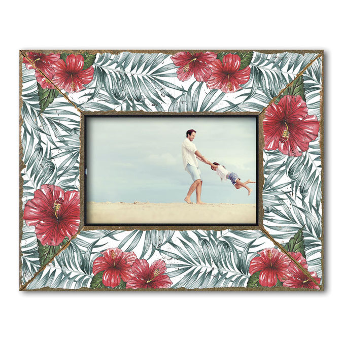 Dekolino Palm Hibiscus