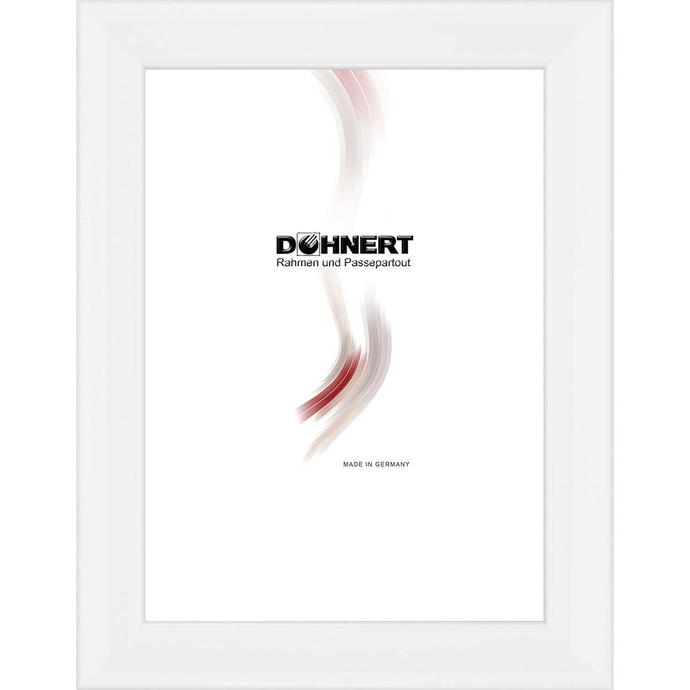 doehnert holzrahmen alexandra 20x25 cm wei leerrahmen ohne glas r ckwand. Black Bedroom Furniture Sets. Home Design Ideas