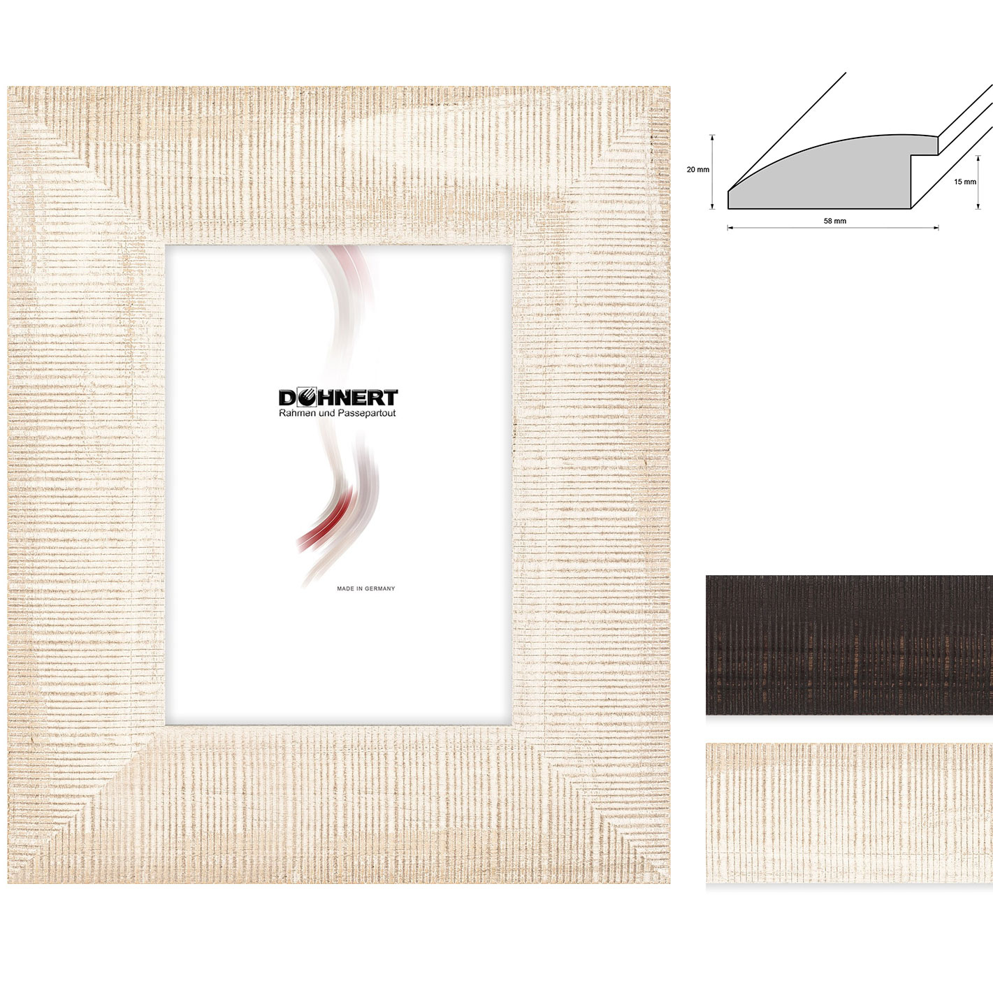 Holz Bilderrahmen Stamford Brook