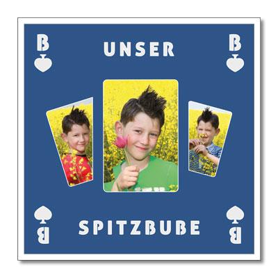 Themen-Passepartout Spitzbube