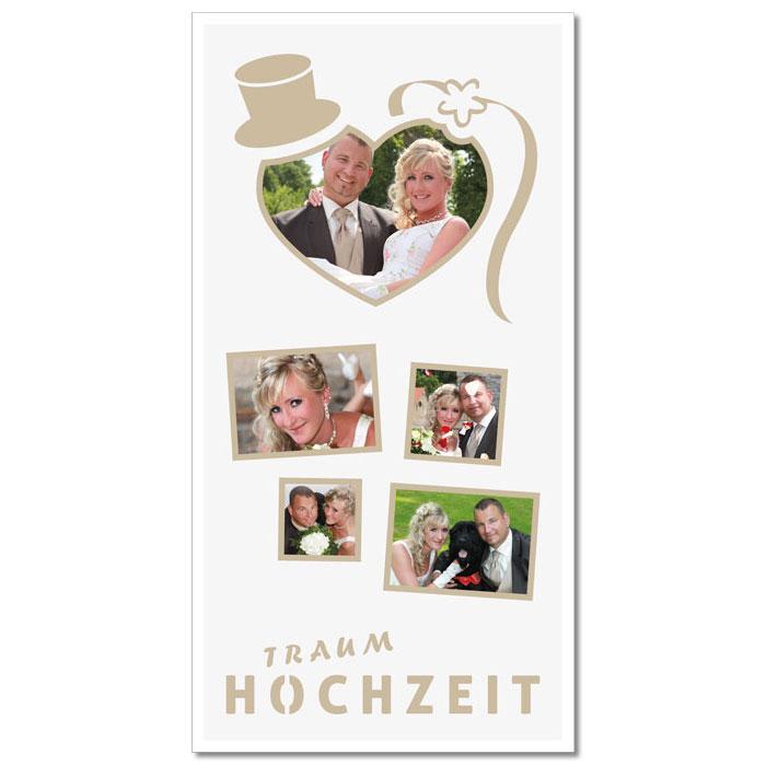 Themen-Passepartout Hochzeit