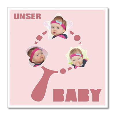 Themen-Passepartout Babyrassel