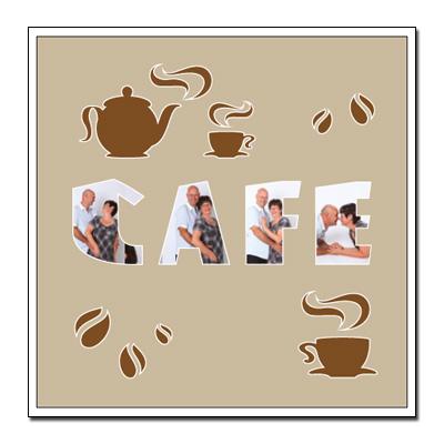 Themen-Passepartout Kaffee
