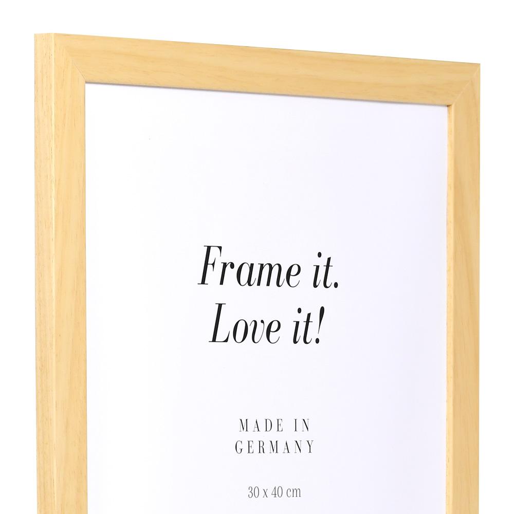 Aktionsrahmen Top Pro 10x15 cm | natur | Normalglas