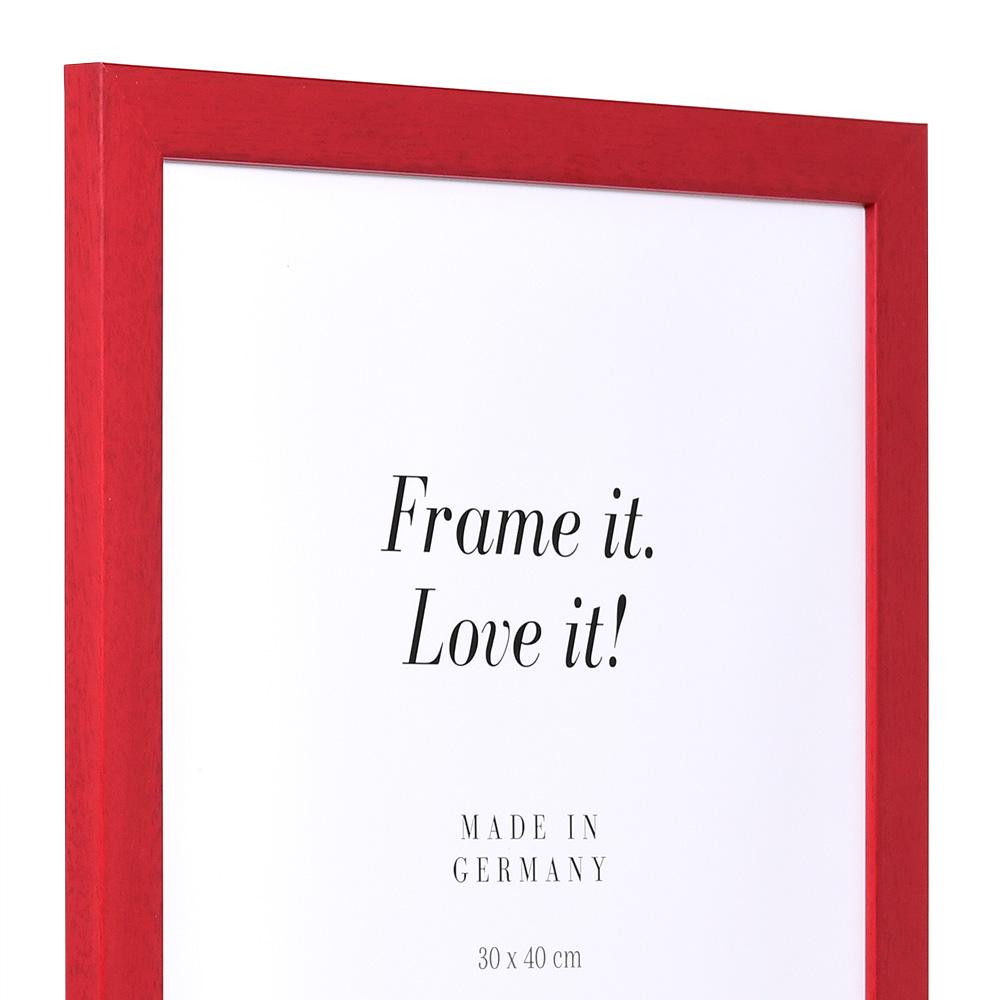 Aktionsrahmen Top Pro 10x15 cm | rot | Normalglas