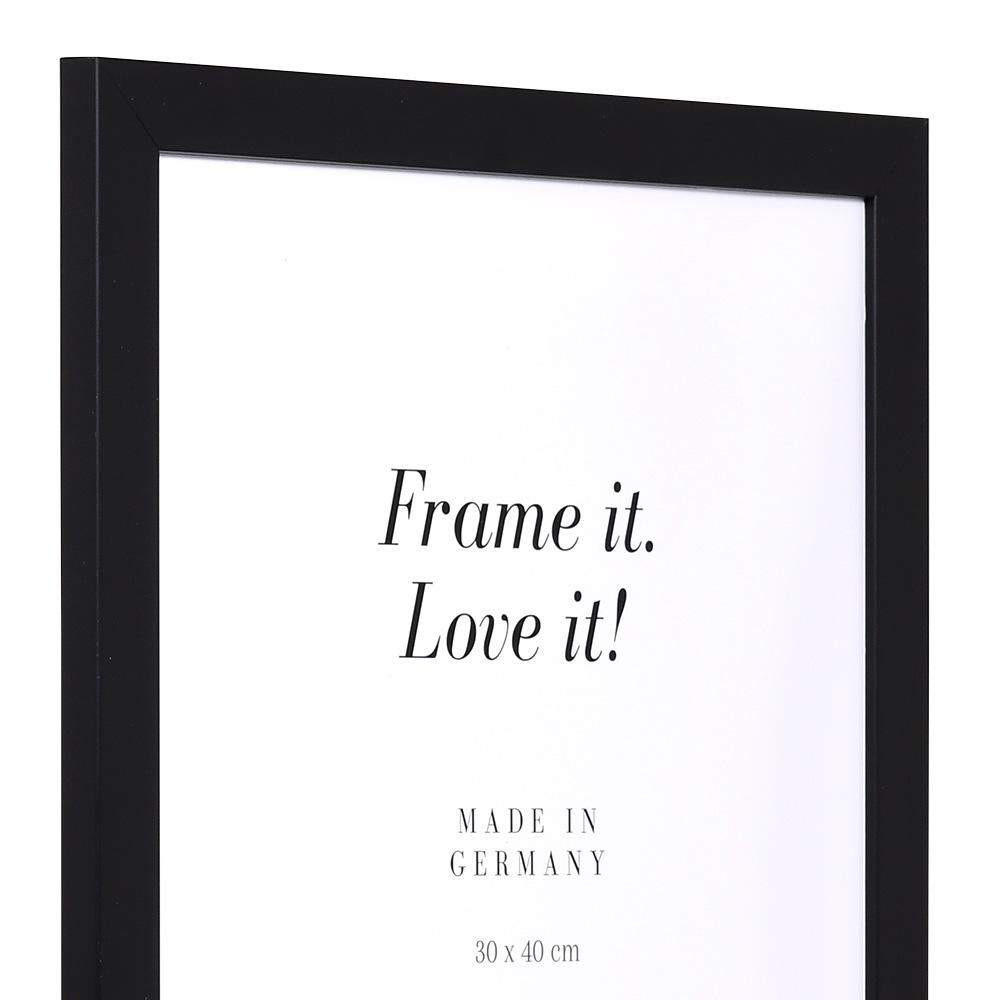 Aktionsrahmen Top Pro 10x15 cm | schwarz | Normalglas