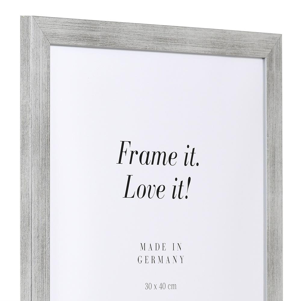 Aktionsrahmen Top Pro 10x15 | silber | Normalglas