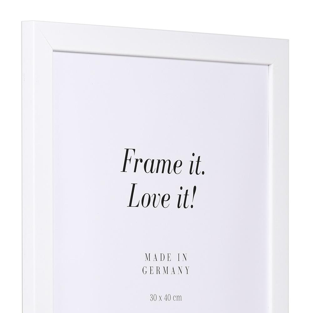 Aktionsrahmen Top Pro 10x15 cm | weiß | Normalglas
