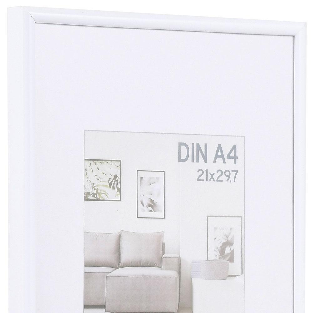 Kunststoffrahmen Elements 18x24 cm | weiß | Normalglas