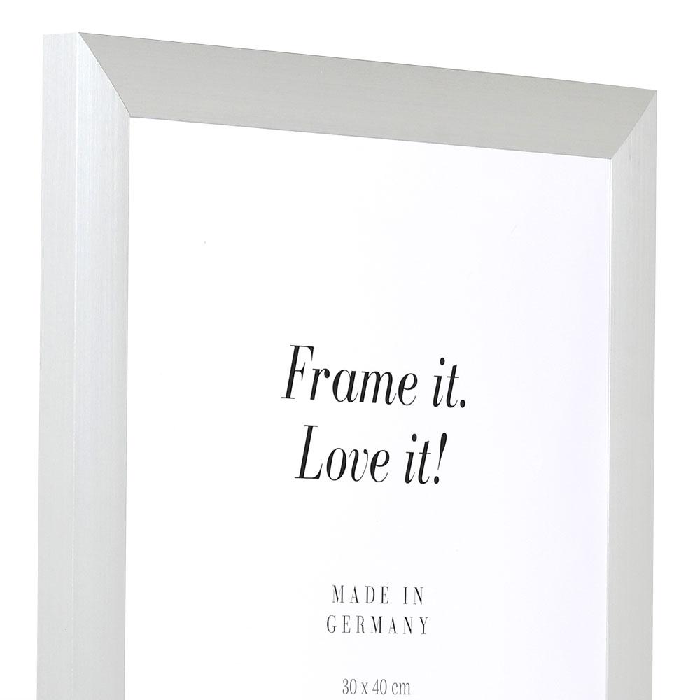 Alurahmen Econ breit 13x18 | silber | Normalglas