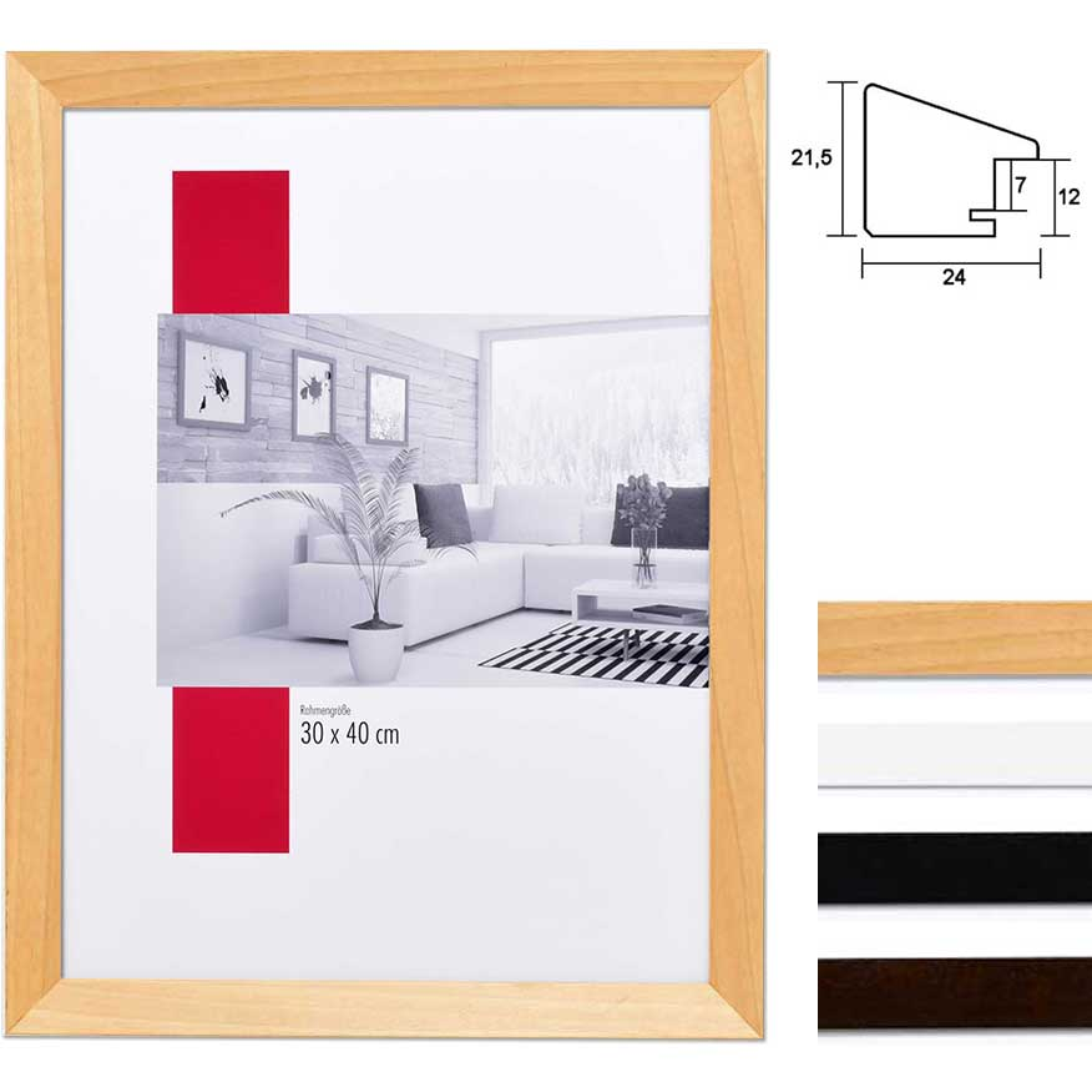 Holz-Bilderrahmen Top N