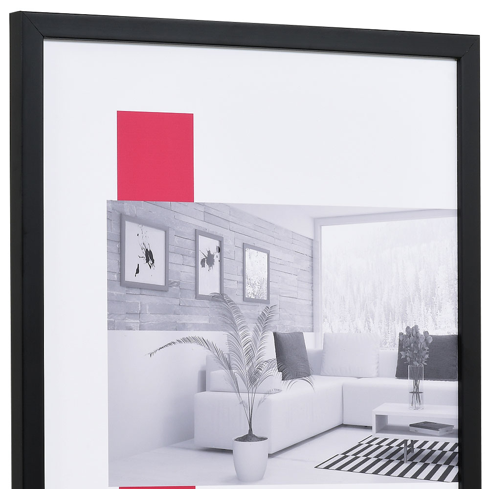 "Holzrahmen ""Top Pro S"" 20x30 | schwarz | Normalglas"
