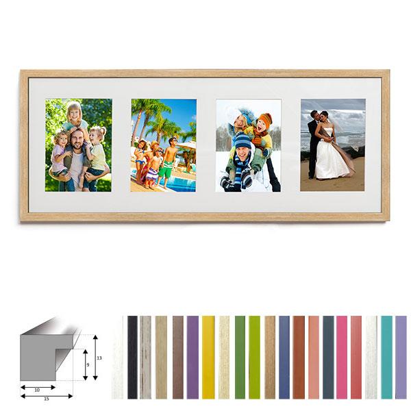 4er Galerierahmen 25x65 cm