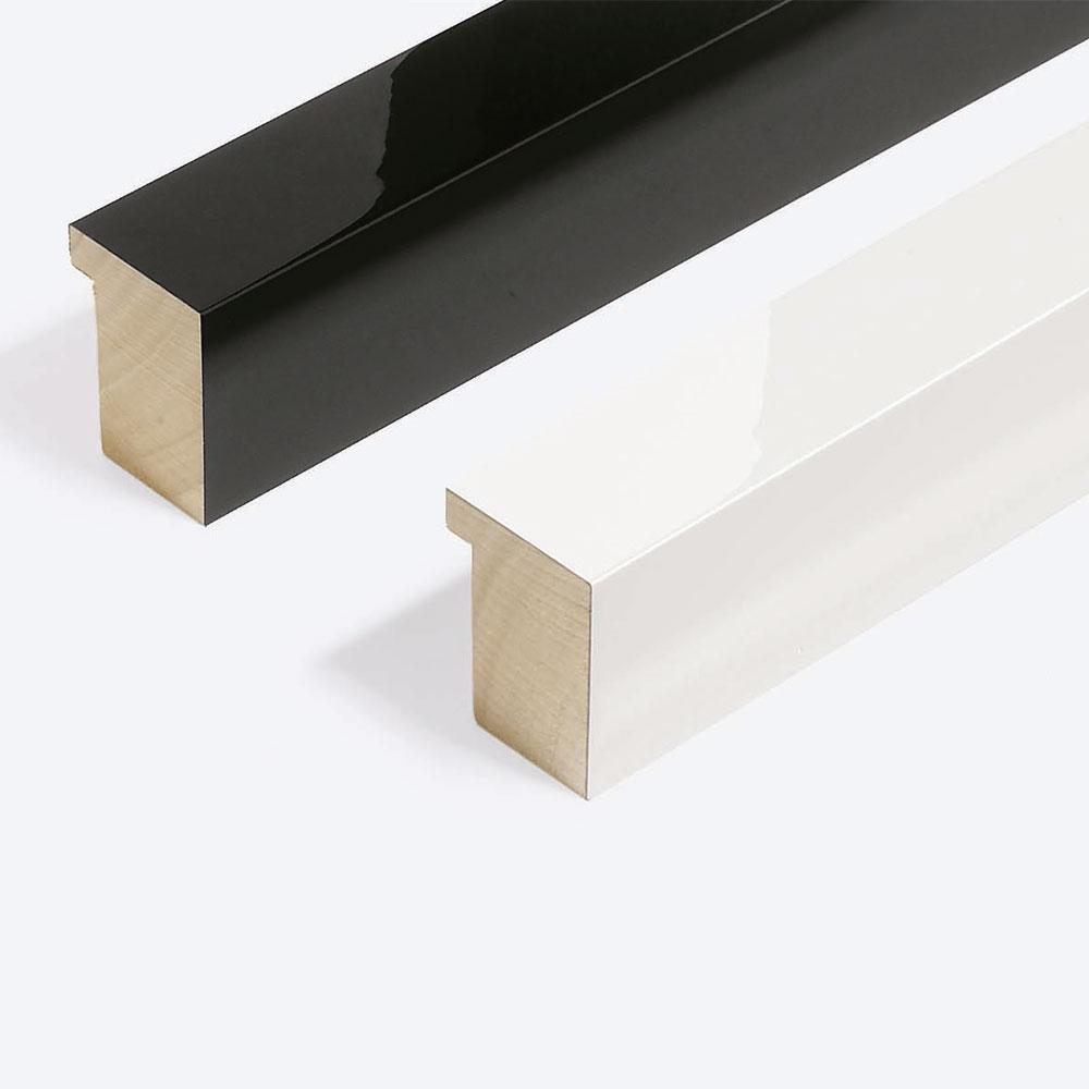 Holz Bilderrahmen Sonderzuschnitt, Matrix B&W 39