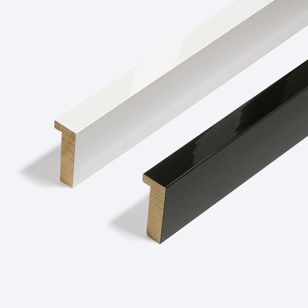 Holz Bilderrahmen Matrix B&W 20x52