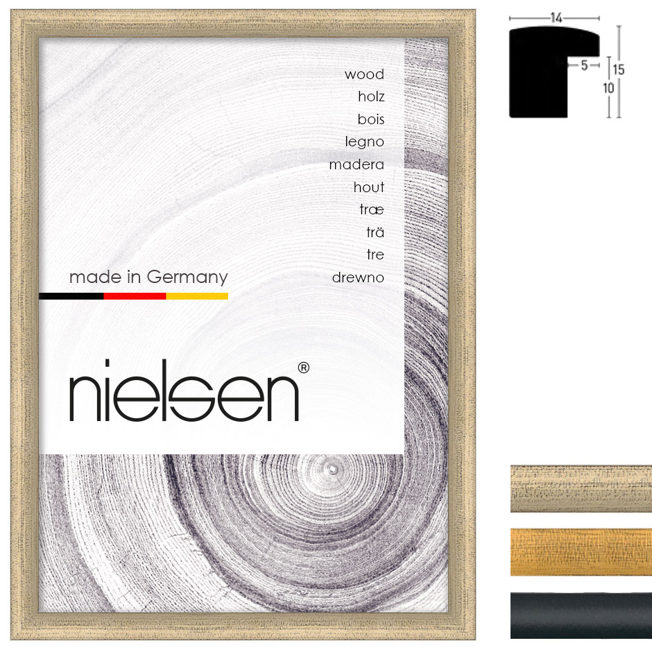 Holz Bilderrahmen Vazgen Minis 2-14x15