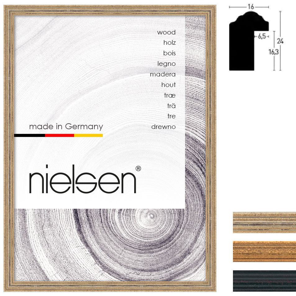 Holz Bilderrahmen Sonderzuschnitt, Vazgen Minis 1-16x24