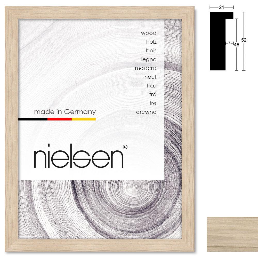 Holz Bilderrahmen Sonderzuschnitt, Oakwoods 21x52