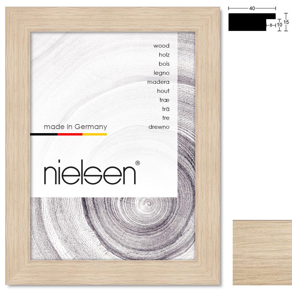 Holz Bilderrahmen Sonderzuschnitt, Oakwoods 40x15