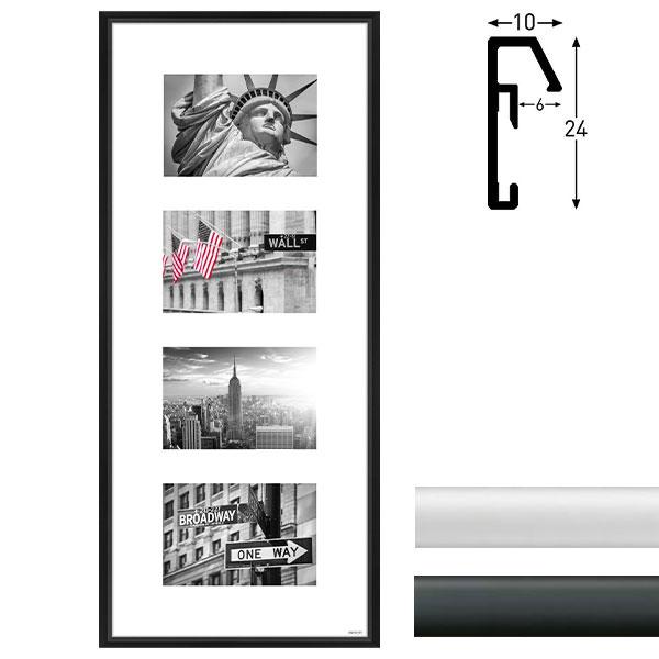 Galerie-Bilderrahmen Junior 4 Bilder
