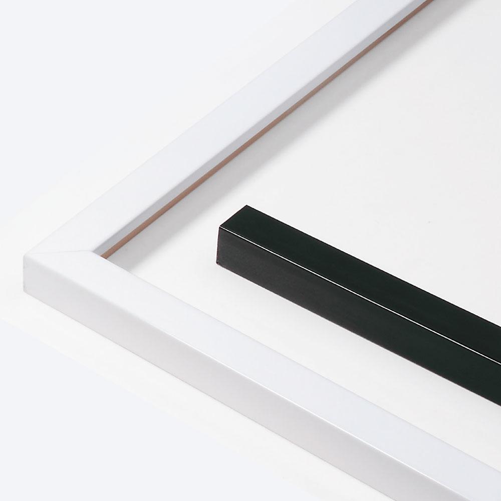 Holz Bilderrahmen Sonderzuschnitt, Matrix B&W 20x20