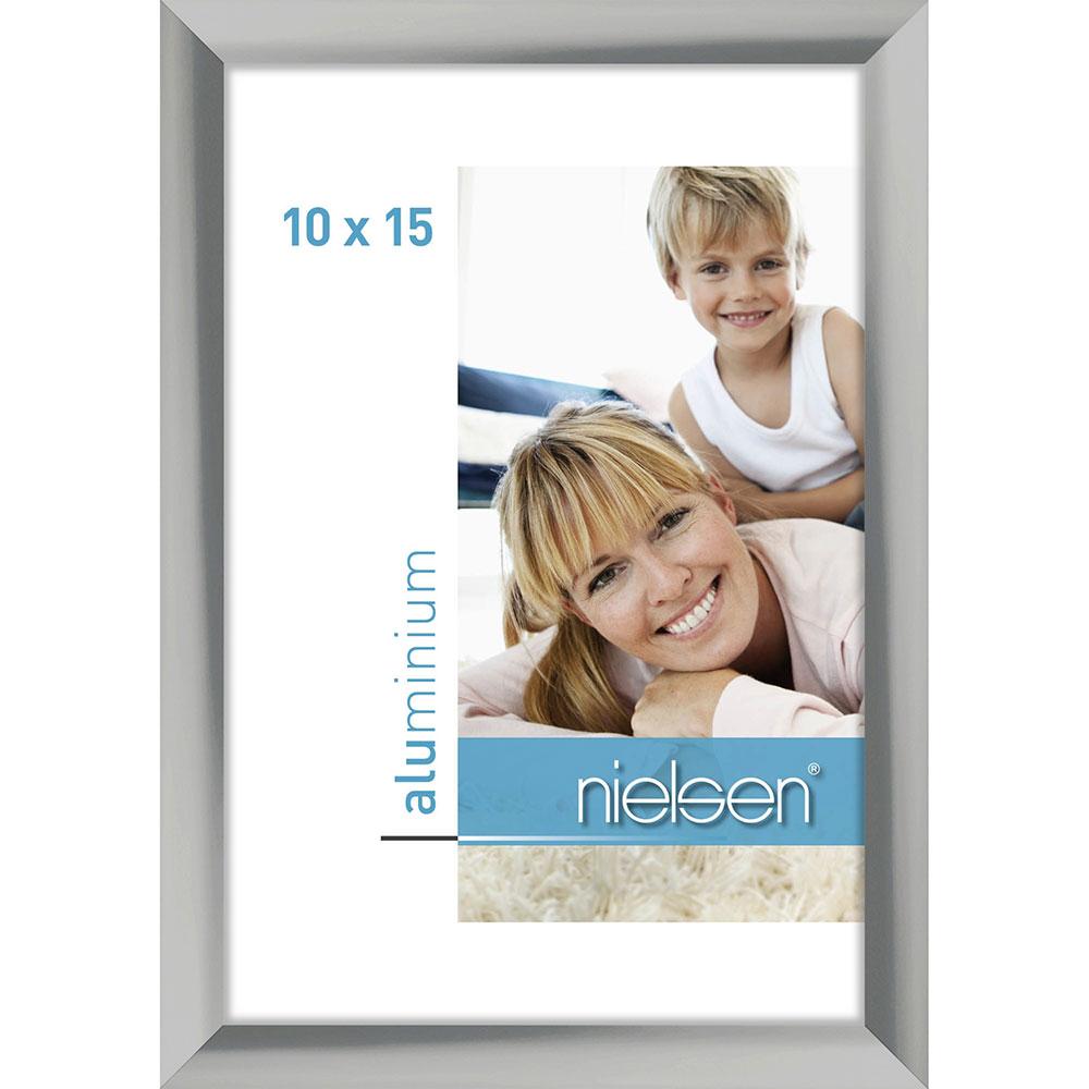 Fotorahmen C2 10x15 cm | Silber | Normalglas