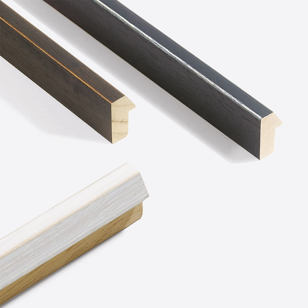 Holz Bilderrahmen Sonderzuschnitt, Modern Shabby 19