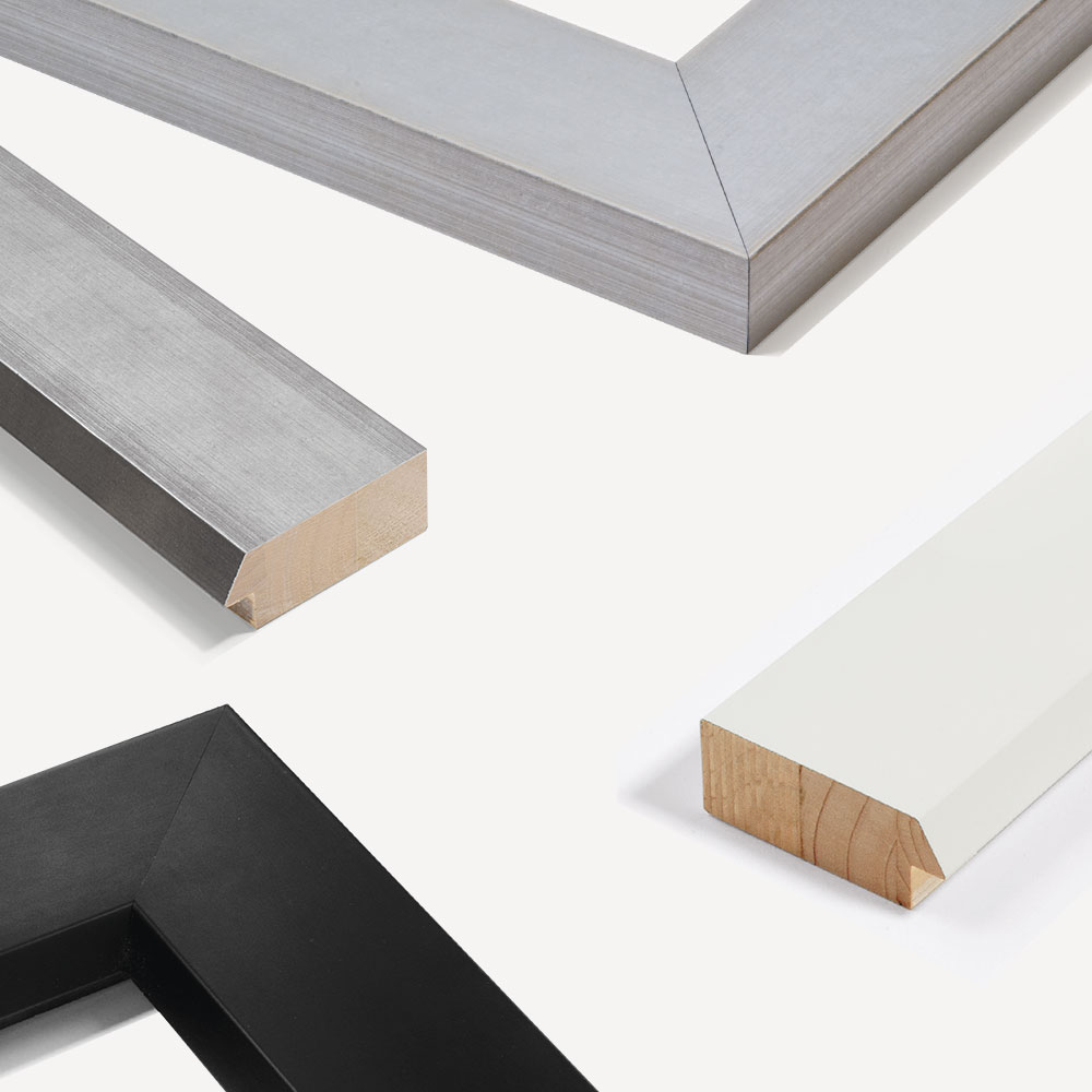 Holz Bilderrahmen Sonderzuschnitt, Contemporanea 75