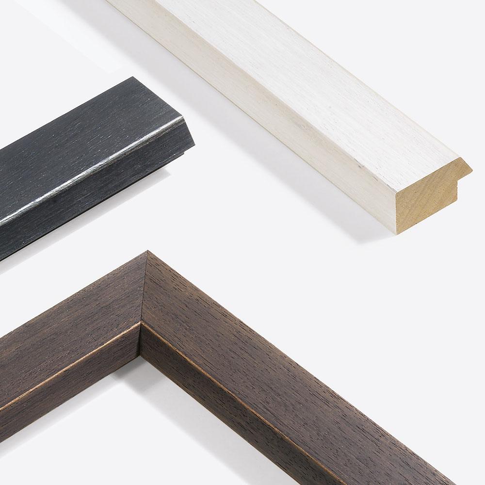 Holz Bilderrahmen Sonderzuschnitt, Modern Shabby 50