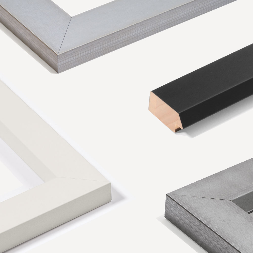 Holz Bilderrahmen Sonderzuschnitt, Contemporanea 50
