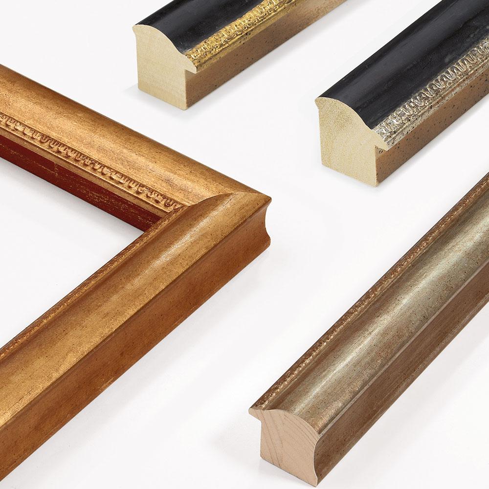 Holz Bilderrahmen Sonderzuschnitt, Hermitage 45