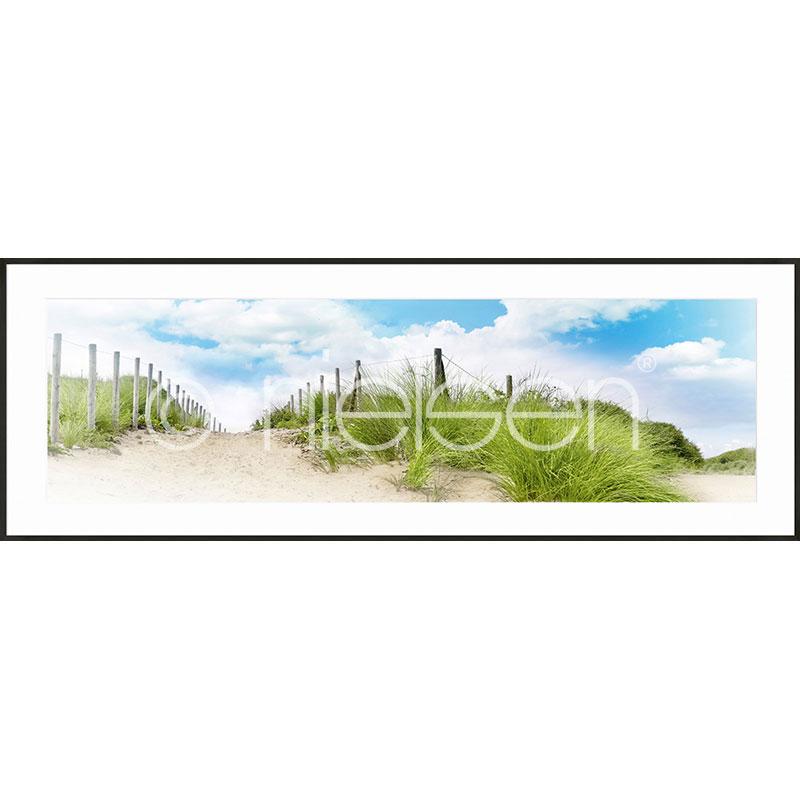 Gerahmte Kunst Dune mit Aluminium Bilderrahmen C2